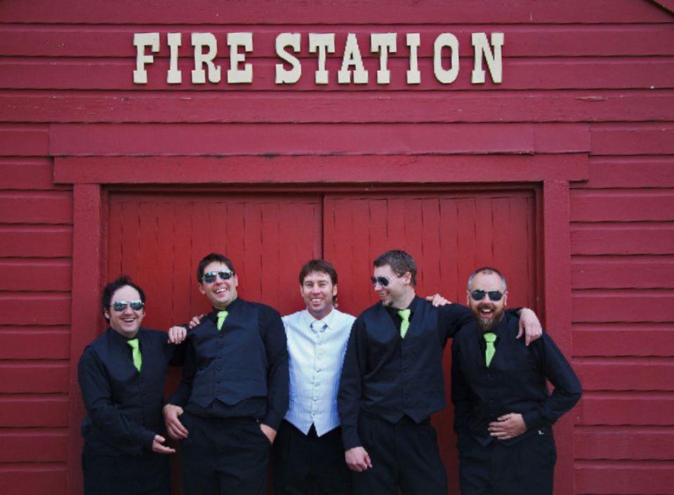 Fire Station Histori Wedding