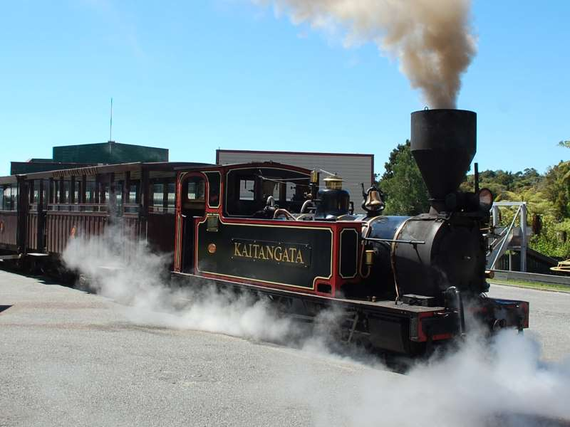 Steam Train Kaitangata